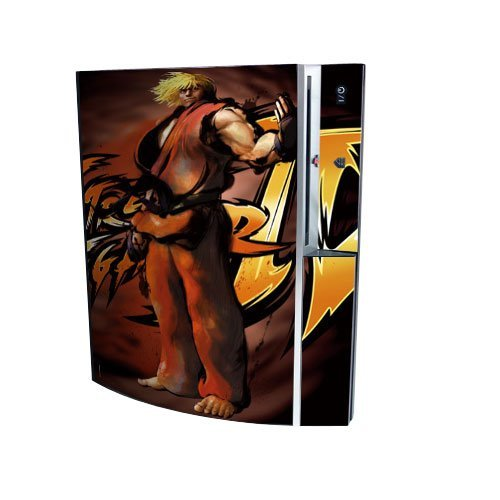PS3 Playstation 3 Body Protector Skin Decal Sticker, Item No.PS30853-58