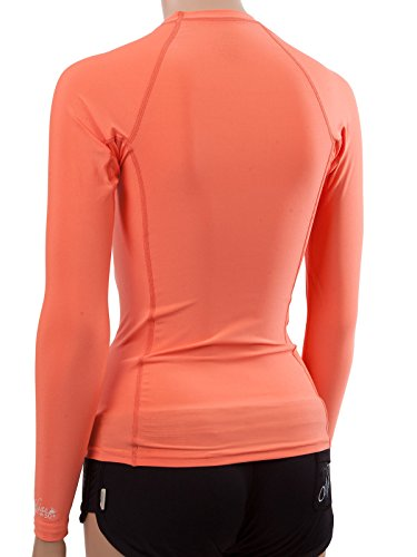 O 39 neill wetsuits uv sun protection womens basic skins long for Uv long sleeve shirt womens