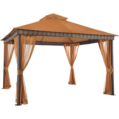 Replacement Canopy For Backyard Creations Gazebo :  II Gazebo Replacement Canopy  RipLock 350  Gazebos  Outdoor Decor