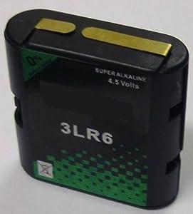 4,5V flachbatterie wechselgehäuse 3LR6 dans boîtier avec 3 piles mignon aA