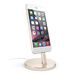 Satechi Aluminum Desktop Charging Stand for iPhone 5 5S 5C 6 6s 6 Plus 6s Plus iPod touch 5G iPod nano 7G