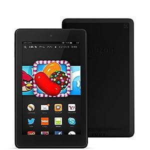 Fire HD 6タブレット―8GB、ブラック