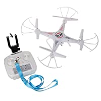 WESTLINK RC Quadcopter with WIFI FPV HD 2MP Camera LED Light 4CH 2.4G 6 Axis Drone 3D Rolling + extra 1pc battery