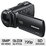 Samsung HMX-F80 Flash Memory HD Digital Video Camcorder (Black)