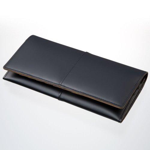 LuggageAOKI(青木鞄)[COMPLEX-GARDENS 枯淡]カード入れ付き長財布 ブラック(3696-10)