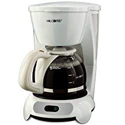 Mr. Coffee TF6 5-Cup Switch Coffeemaker, White by Mr. Coffee