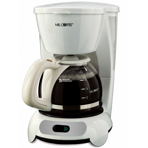 Mr coffee tf6 5 cup switch coffeemaker white kitchen for Apartment coffee maker