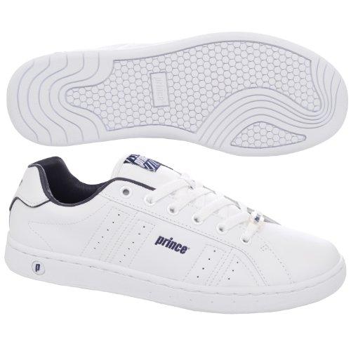 Principe classico da uomo scarpe da tennis, White, 8 UK