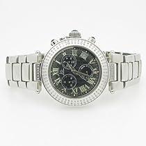 Techno Master Ladies Ceramic 1.0 ctw Diamond Watch TM7665
