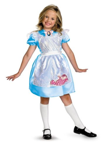 Disney Alice in Wonderland Costume - Medium