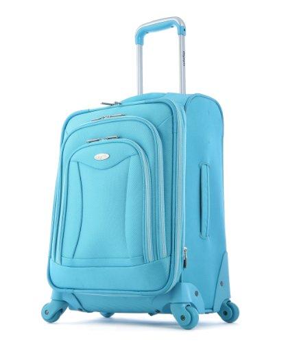 Olympia Luggage Blue 21'' Spinner Upright Luggage