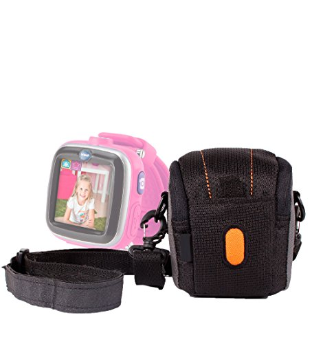 Duragadget Padded Protective Lightweight Case With Small Front Pocket For Vtech Kidizoom Smartwatch front-1070222