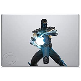 Sub Zero Macbook Decal Mac Apple skin sticker