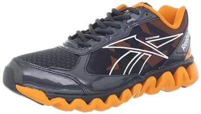 Reebok Men's ZigLite Rush Shoe,Gravel/White/Nacho,9.5 M US