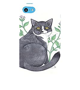 EPICCASE Chubby Cat Mobile Back Case Cover For Apple iPhone 5c (Designer Case)