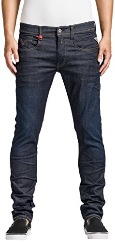 Replay Herren Slim Jeans Anbass, Gr. W32/L32 (Herstellergröße: 32), Blau (Blue Denim 7) thumbnail
