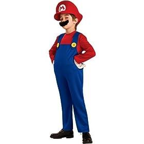Super Mario Deluxe Toddler/Child Costume