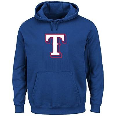 Texas Rangers MLB Men's Scoring Position Pullover Hooded Fleece