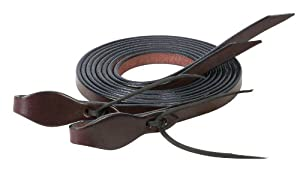 Weaver Leather Trailhead Split Rein, 5/8-Inch x 8-Feet, Mahogany