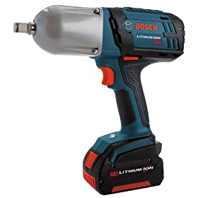 Bosch IWHT180-01 18-Volt 1/2-Inch Lithium-Ion Impact Wrench with Ring