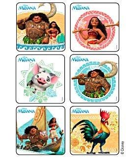 Stickers Disney Moana Birthday Party Supplies