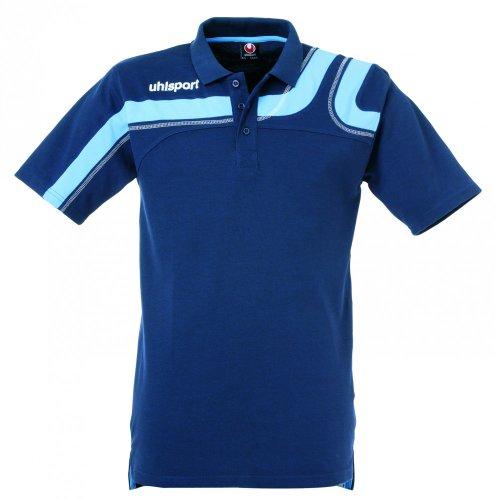Uhlsport polo Progressiv, Unisex, Poloshirt Progressiv, marine/sky, S