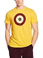 Ben Sherman Camiseta Manga Corta Target Tee Basic (Amarillo / Azul)