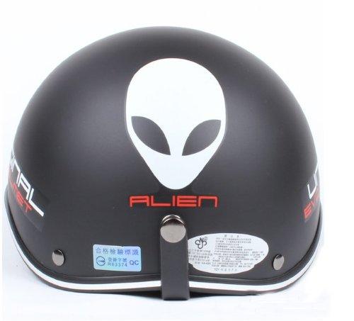 Bikman Motorcycle Motor Helmet Electric Cars Safety Bike Summer Helmet With Hat'S Brim (M)