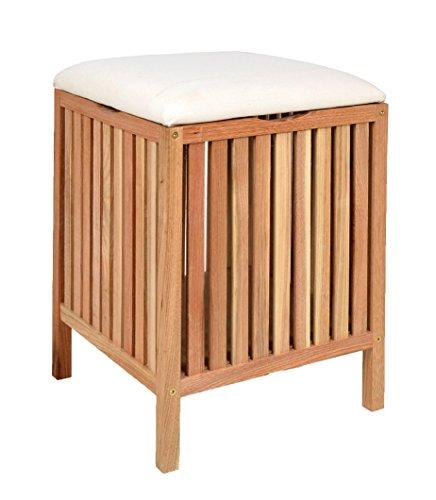 badhocker holz. Black Bedroom Furniture Sets. Home Design Ideas