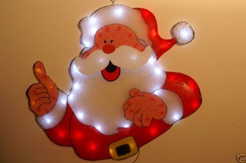 Christmas Concepts 62Cm Thumbs Up Santa Led Silhouette In/Outdoor (Nl61)