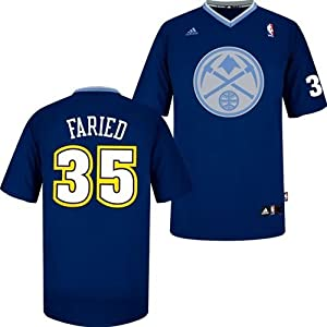 Kenneth Faried Denver Nuggets #35 NBA Youth Short Sleeve Jersey by adidas