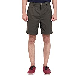 FBBIC Awesome Green Men's Solid Short(Size::M)