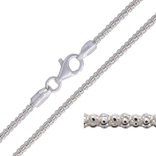 925-solid-sterling-silver-popcorn-pendant-chain-necklace-lengths-16-18-20-22-24-26-28-30-inch-2mm-wi