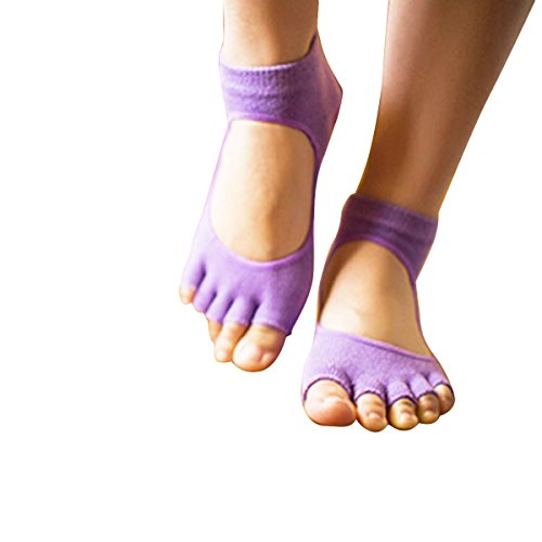 OnePlus Half Toe Grip Ankle Socks