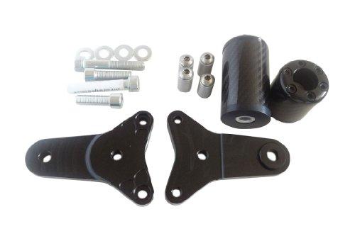 New No Cut Carbon Frame Sliders Suzuki Gsxr Gsx-R 600 750 2011 2012 2013 2014 2015 (Frame Sliders Gsxr 600 compare prices)