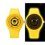 Chic orologio unico orologio al quarzo moda noctilucent strape per ragazzi e ragazze