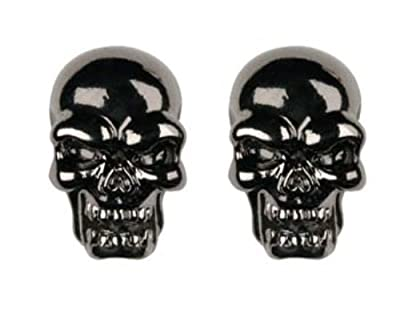 Evil Skull Stud Earrings - Collectible Dangle Jewelry Accessory Jewel