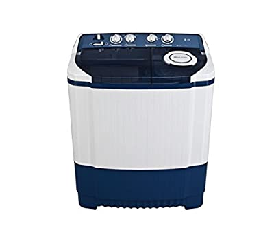LG P8037R3F Semi-automatic Washing Machine (7 Kg, Dark Blue)