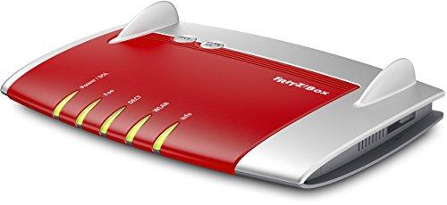 AVM FRITZ!Box 7430 (VDSL-/ADSL2+, WLAN N, 450 MBit/s (2,4 GHz), TK-Anlage für Voice over IP mit DECT-Basis, Mediaserver)
