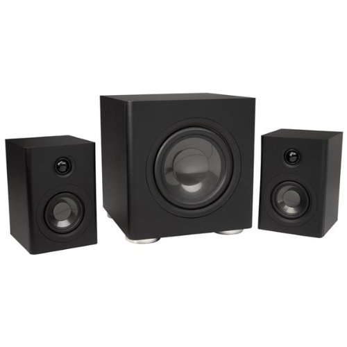Proficient Audio GS2.1 Sub/Sat Computer Speaker System (Black)