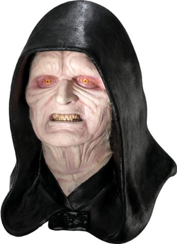 Rubie's Costume Men's Star Wars Deluxe Adult Latex Emperor Palpatine Mask