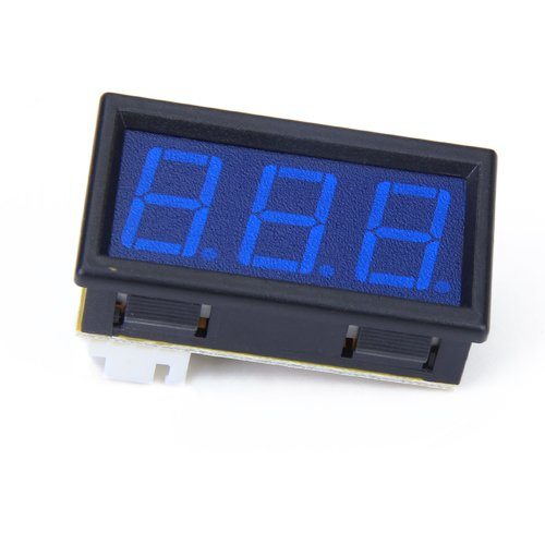 Mini Dc 99.9V Blue Led Digital Panel Meter Voltmeter