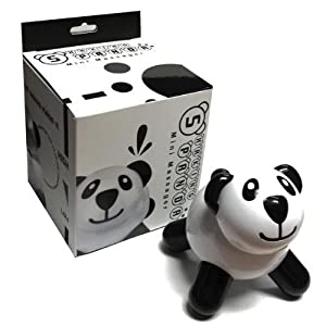 Golden Triangle Shaking Panda Mini Massager