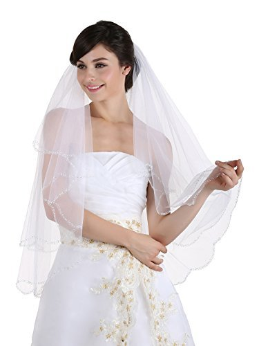 2t-2-tier-beaded-scallop-edge-bridal-wedding-veil-white-fingertip-length-36-v170-by-venus-jewelry