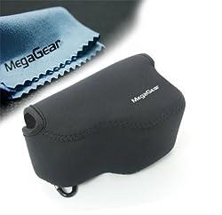 Mega Gear MG063 Ultra Light Neoprene Case and Bag for Sony A6000 (Black)