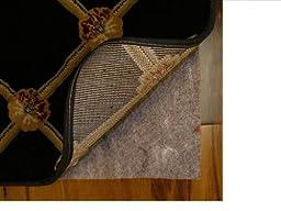 4\' Round Authentic Mohawk Ultra Premium Reversible Non Slip Non Skid Felt and Rubber back Rug Pad, over 1/4\