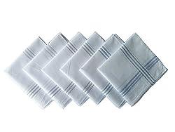 Krayonz Mens Mercerised Handkerchiefs-10006003100