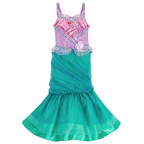 Disney Store Ariel Costume The Little Mermaid Heart Size L Large 9 - 10
