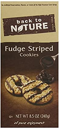 Back To Nature Fudge, Striped, 8.5 Ounce
