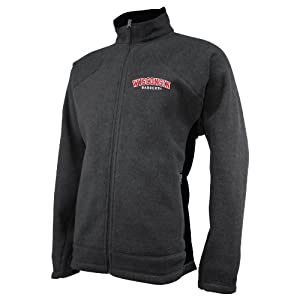 NCAA Wisconsin Badgers Mens V2X Jacket by Ouray Sportswear